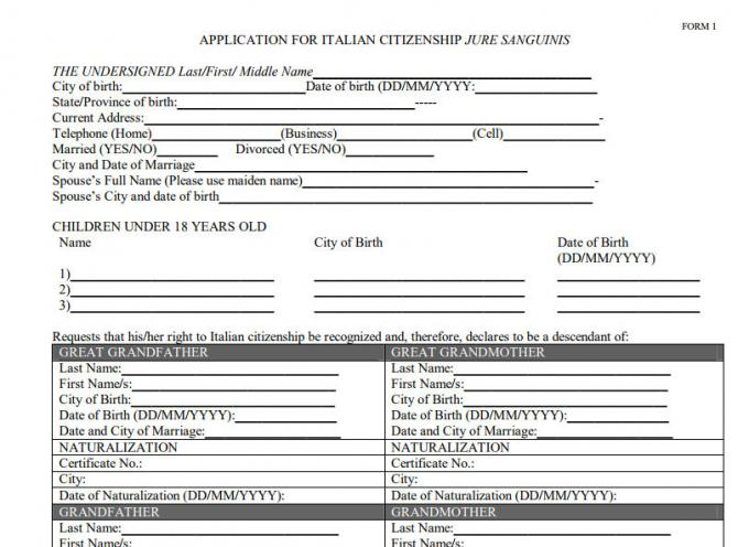 Applying For Italian Dual Citizenship With Family Members  My